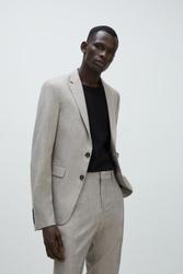 Marynarka Zara Textured Suit Jacket