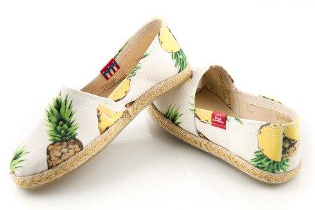 Espadryle Miss Hamptons Pineapple