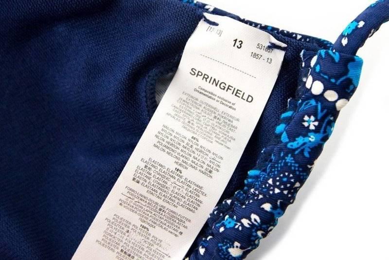 Góra strój kąpielowy SPRINGFIELD r. S