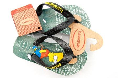 Japonki Havaianas Simpson